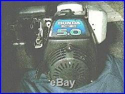 Genuine Honda GC160 5hp Engine. Horizontal Shaft Engine
