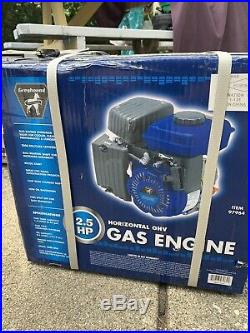 Greyhound 2.5HP (79cc) OHV Horizontal Shaft Gas Engine