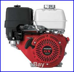 HONDA GX390QNE2 Gas Engine, 3600 rpm, Horizontal Shaft
