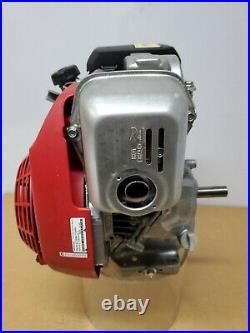Honda 5HP GC160 Over Head Cam Motor 3/4 x 2-7/16 Horizontal Shaft Engine -S03