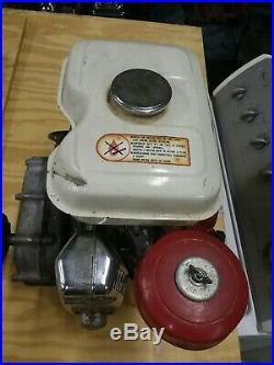 Honda G200 5hp gas engine side shaft excellent shape clean