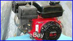 Honda GX200 horizontal Gas Engine, 3/4 shaft multipurpose Go kart Mixer