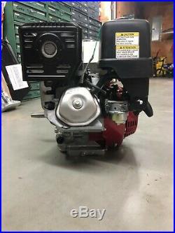 Honda GX390 4-Cylce OHV 11.7 HP Gas Engine with 1 Horizontal Shaft