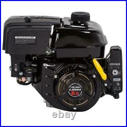 Horizontal Keyway Shaft Gas Engine LIFAN 3/4 in. 6.5 HP OHV Electric Start