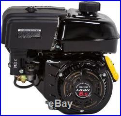 Horizontal Keyway Shaft Gas Engine LIFAN 3/4 in. 6.5 HP OHV Recoil Start