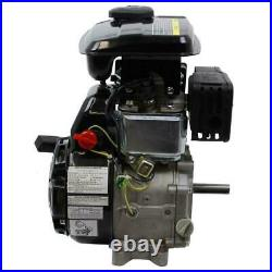 Horizontal Shaft Gas Engine LIFAN 5/8 in. 3 HP 97.7cc OHV Recoil Start Quieter