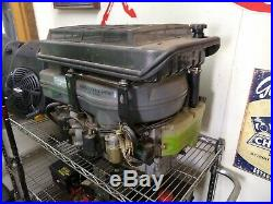 John Deere 345 Kawasaki Fd590v 18hp Good Running Engine Motor 1 1/8 Shaft
