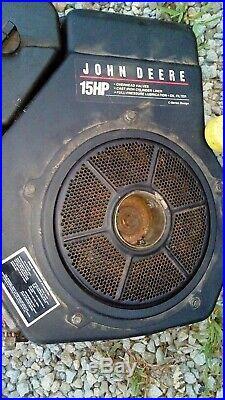 John Deere LX255 Complete Engine Kohler CV15S 15HP Vertical Shaft gt225 lt155