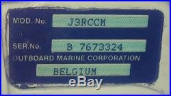 Johnson 2.5-hp Outboard Engine Gas Trolling Boat Motor Stroke J3rccm Short Shaft