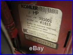 K181S Kohler M8 Magnum 8 Engine Complete withElectric Start Horizontal Shaft 8hp