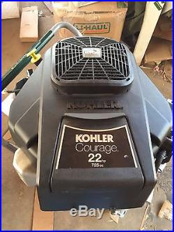 KOHLER 22HP OHV V TWIN ENGINE NEW 1 x 3 5/32 VERTICAL SHAFT SV715 FREE S&H