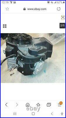 Kawasaki 14.5 hp vertical shaft gas engine