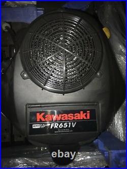 Kawasaki 21.5HP FR651V Vertical Shaft Mower Engine WITH Kawasaki warranty
