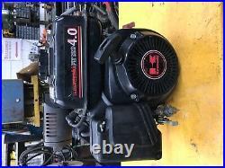 Kawasaki FE120 engine 4hp horizontal shaft