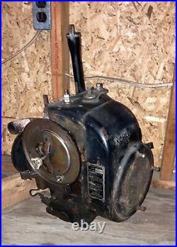 Kohler 8hp engine, runs great, John Deere 110, horizontal shaft