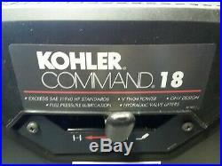 Kohler Command CH18 Engine 18HP T9 Shaft CH620