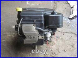 Kohler Command CV15S Vertical Shaft Engine from a Craftsman Lawn Tractor