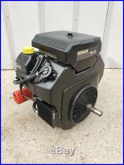 Kohler Command Pro 25 Electric start Gas Engine Motor Front&Back 1 inch shafts