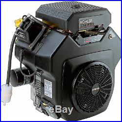 Kohler Command V-Twin OHV Hor Engine withElectric Start- 674cc 1 1/8in x 4in Shaft