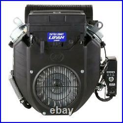 LIFAN 1-1/8 in. 24 HP V-Twin Electric Start Keyway Shaft Gas Engine