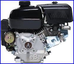 LIFAN 7 HP 3/4 in. Horizontal Shaft Recoil Start Gas Engine Outdoor Equipment