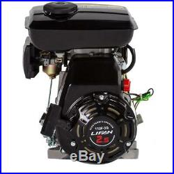 LIFAN Gas Engine. 625 in Dia 3 HP 97.7cc OHV Recoil Start Horizontal Shaft