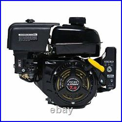 Lifan 7 HP 3/4 In. Horizontal Shaft Electric Start Gas Engine Recoil 212cc