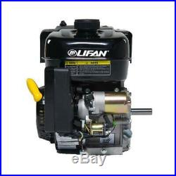 Lifan Recoil Start Gas Engine Horizontal Shaft 7 HP 3/4 In. Industrial Grade
