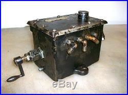 MADISON KIPP 30 IHC MOGUL SIDE SHAFT 3 FEED FORCE FEED OILER Gas Engine