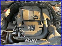Mercedes W204 R172 C250 E250 Slk250 1.8l Complete Engine Motor With Turbo Oem
