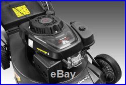 Mower Self Propelled Walk Behind Shaft Drive Engine Gas Aluminum Deck Commercial