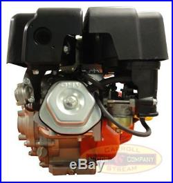 NEW 9HP 61 Gear Reduction Gas Engine Cement Mixer Side Shaft Pull Small Motor