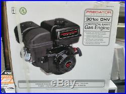 NEW! Predator Engines 61415 8 HP (301cc) OHV Horizontal Shaft Gas Engine