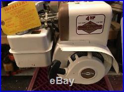 NOS Briggs 4hp Engine 3/4 shaft minibike go Kart