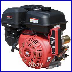 New 13HP Gas Engine Side Shaft E-Start 13 HP Carroll Stream Motor Company 389cc
