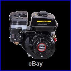 New 6.5 HP (196cc) OHV Horizontal Shaft Gas Engine Go Cart Mini Bike Snowblower
