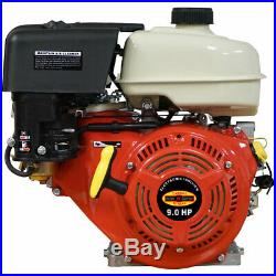 New Gas Engine 9HP Cast Iron Sleeve Recoil Start 9 HP Small Motor 1 Shaft Keyed