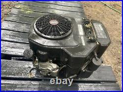 Nice Used Kohler Command CV23v 23hp Vert Shaft ENGINE 1 X 3 3/16