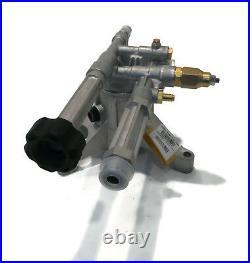 OEM AR 2600 psi POWER PRESSURE WASHER WATER PUMP Husky HU80709 HU80709A Engine