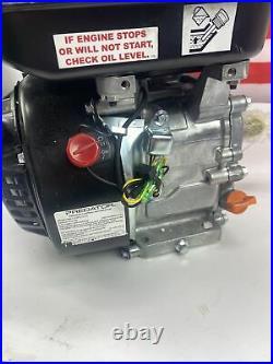 OHV Horizontal Shaft Gas Engine 6.5 HP (212cc) Go Cart Snowblower MiniBike EPA