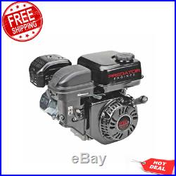 OHV Horizontal Shaft Gas Engine 6.5 HP (212cc) MiniBike Go Cart Snowblower NEW