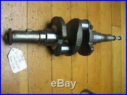 Onan 2cyl Gas Engine Crank Shaft 104-1316