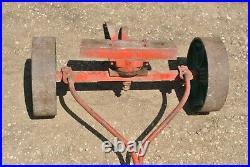 Original Rare Lauson Lawton Side-Shaft Gas Engine Hit Miss Cast Iron Hand Trucks