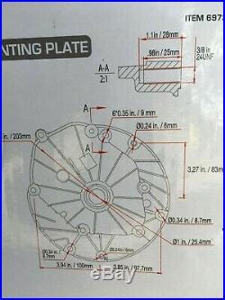 PREDATOR 5.5 HP 173cc OHV Vertical Shaft Gas Engine Item # 69731