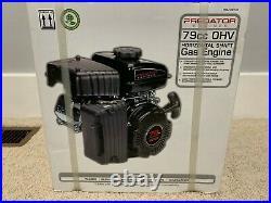 PREDATOR 79cc OHV Horizontal Shaft Gas Engine ITEM 69733 NEW