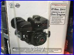 PREDATOR ENGINES (212cc) OHV Horizontal Shaft Gas Engine