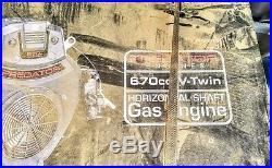 PREDATOR ENGINE (670cc) OHV Horizontal Shaft Gas Engine New in box