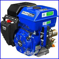 Portable 16 hp 1 in. Shaft gas-powered recoil/electric start engine duromax