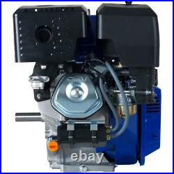 Portable 420cc 1 in. Shaft Gas-Powered Recoil/Electric Start Engine