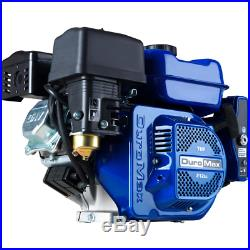 Portable 7HP 3/4 Shaft Gas-Powered Recoil/Electric Start Engine Low Oil Shutoff